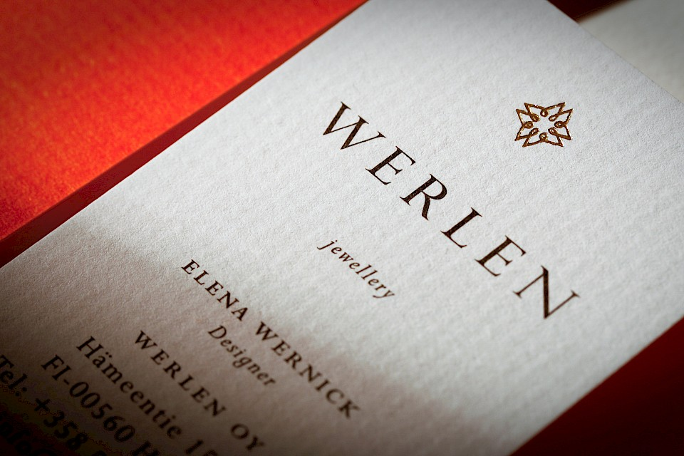 Werlen Jewellery: Business cards