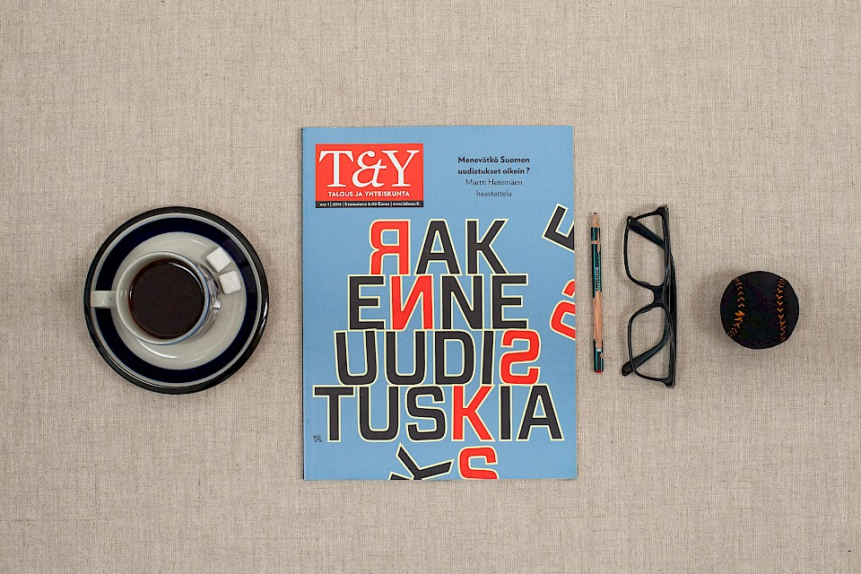 T&Y Magazine: T&Y Cover 1/2014