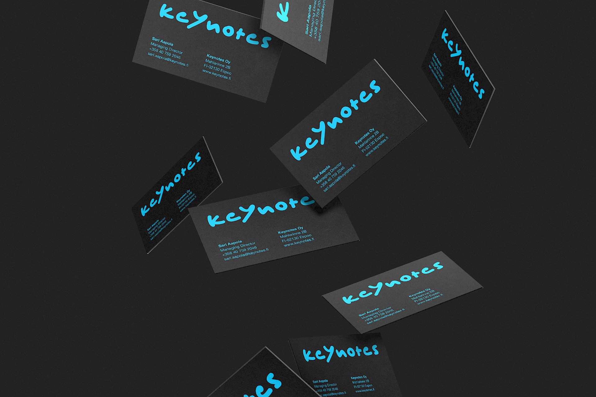 Keynotes: Business card