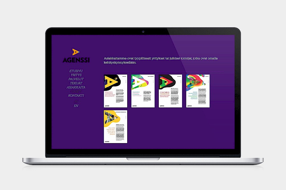 Agenssi: Website / Cases