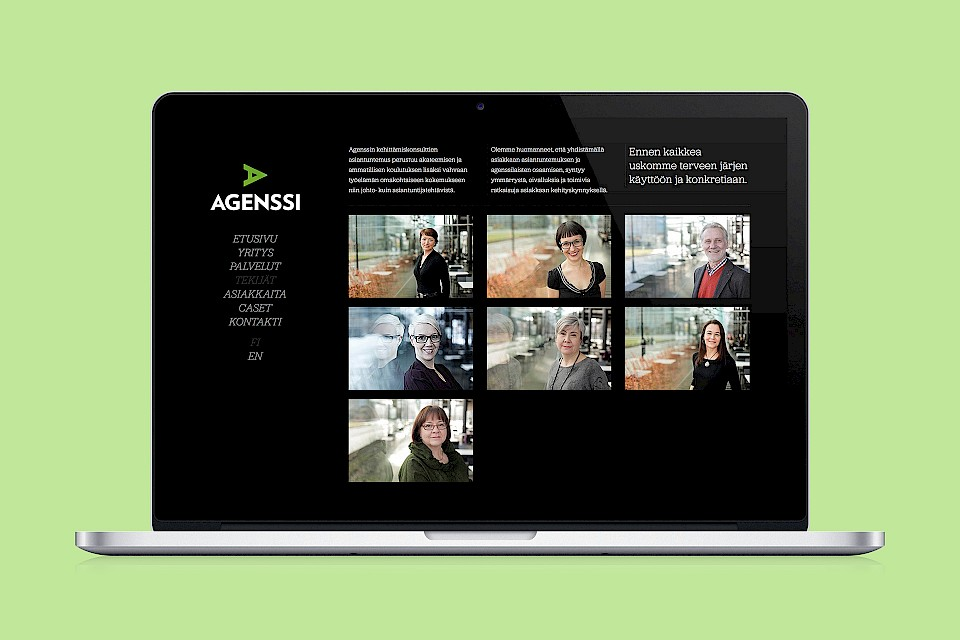 Agenssi: Website / People
