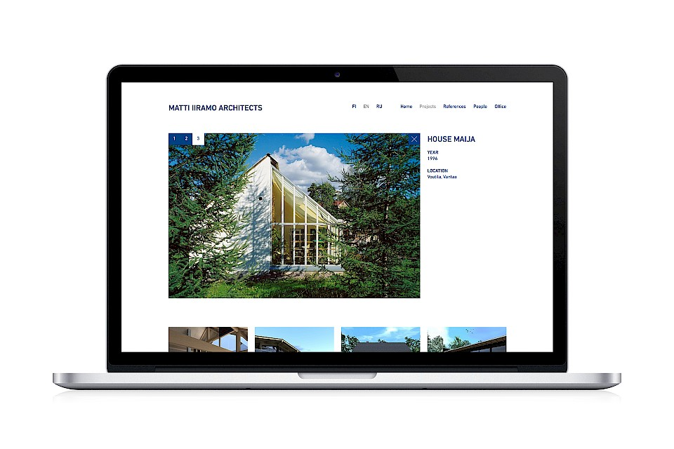 Matti Iiramo Architects: Website / Case
