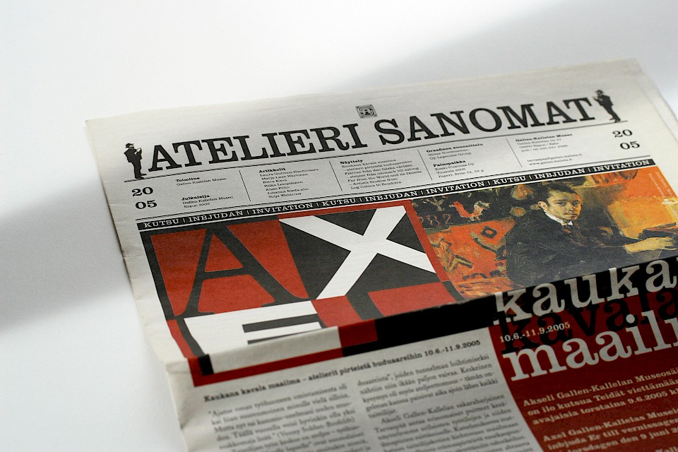Gallen-Kallelan Museo: Tabloid lehti